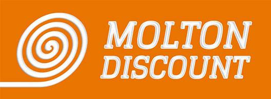 Logodesign für Moltondiscount
