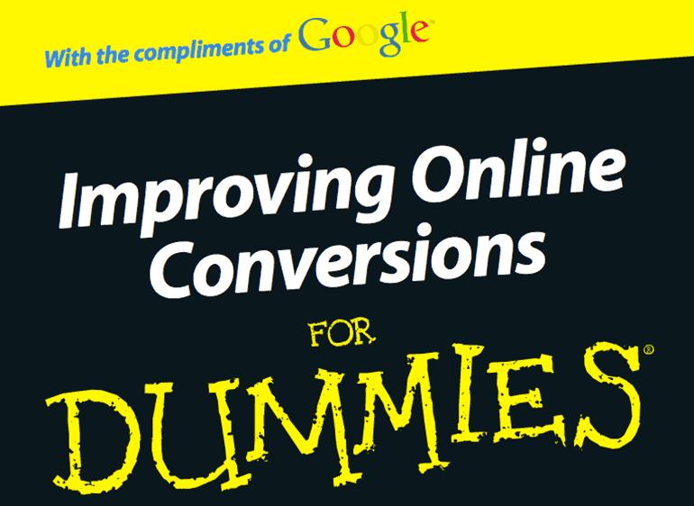 Conversion Optimierung für Dummies, Cover: kostenloses Google eBook