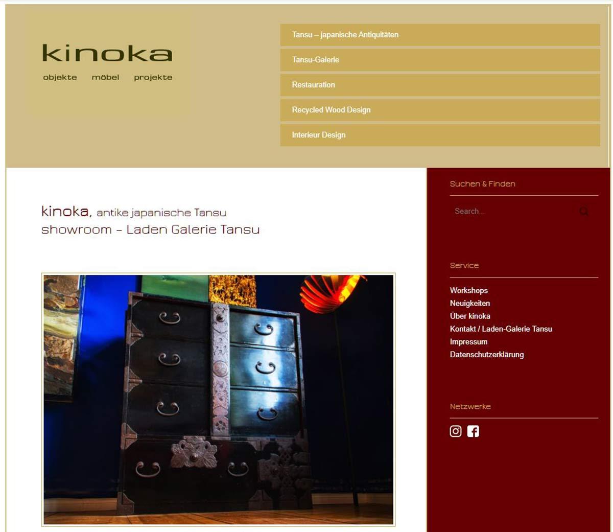 Kinoka Möbeldesign - Startseite